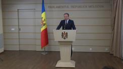 Declarațiile lui Adrian Candu în timpul ședinței Parlamentului Republicii Moldova din 26 iulie 2018