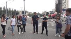 """Lansarea campaniei naționale cu genericul """"Fii atent la trecere!"""""""