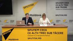 """Conferință de presă cu tema """"Lupta cu hepatita în Republica Moldova - cauzele îmbolnăvirii și programul de lecuire a bolnavilor cu hepatită"""""""