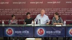 """Conferința de presă susținută de Fiodor Ghelici, președintele Asociației obștești """"Moldova mea"""", cu tema """"Adresare publică pentru Președintele Dodon!"""""""