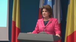Conferință de presă susținută de Ministrul Fondurilor Europene, Rovana Plumb, cu ocazia prezentării bilanțului de activitate