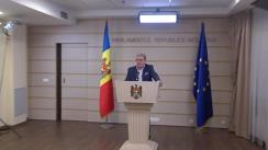 Declarațiile lui Mihai Ghimpu în timpul ședinței Parlamentului Republicii Moldova din 27 iulie 2018