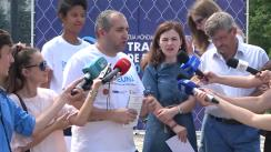 Flashmob dedicat Zilei mondiale împotriva traficului de ființe umane