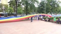 """Flashmob organizat de Asociația """"UNIREA - ODIP"""" de Ziua Constituției"""