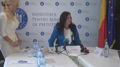 Declarație de presă susținută de Ministrul pentru Românii de Pretutindeni, Natalia-Elena Intotero, cu privire la bilanțul Ministerului pe primul semestru și stadiul angajamentelor din programul de guvernare