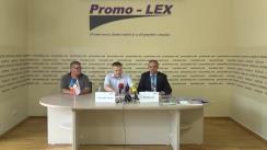 """Conferința de presă organizată de Asociația Promo-LEX cu tema """"Practicile ilegale de transmitere a persoanelor către structurile regimului din Tiraspol"""""""