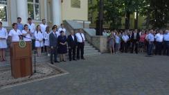 """Evenimentul de lansare a campaniei """"Un doctor pentru tine"""", inițiată de Guvernul Republicii Moldova"""