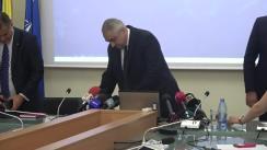 Conferință de presă susținută de Ministrul Educației Naționale, Valentin Popa, privind prezentarea bilanțului după șase luni de mandat