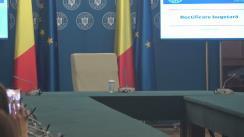 Declarație de presă susținută de Prim-ministrul Românie, Viorica Dăncilă