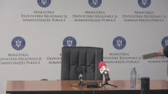Prezentarea bilanțului după șase luni de mandat a Ministrului Dezvoltării Regionale și Administrației Publice, Paul Stănescu