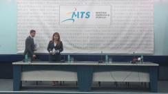 Conferință de presă susținută de Ministrul Tineretului și Sportului, Ioana Bran, Ministrul Sportului și Turismului din Polonia, Witold Banka, și Ministrul Turismului, Bogdan Trif