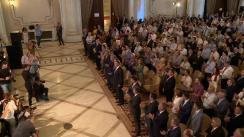Participarea Președintelui României, Klaus Iohannis, la reuniunea Consiliului Național al Partidului Național Liberal