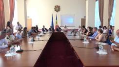 Ședința Ministrului Economiei și Infrastructurii, Chiril Gaburici, cu reprezentanții Întreprinderilor Mici și Mijlocii: Reformele guvernării pentru mediul de afaceri