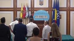 Prezentarea stadiului îndeplinirii obiectivelor prevăzute în Programul de guvernare pentru primele șase luni ale anului 2018 de către Ministrul Apărării Naționale, Mihai Fifor