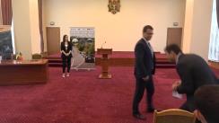 Semnarea contractului privind reabilitarea sectorului de drum M3 Chișinău-Giurgiulești