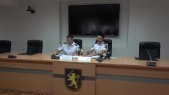 Conferința de presă privind acțiunile de prevenire a accidentelor rutiere în luna august cu flux sporit al traficului datorat vacanțelor