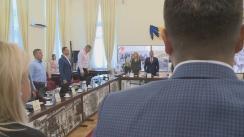 Ședința extraordinară al Consiliului Local al Municipiului Iași din 10 august 2018