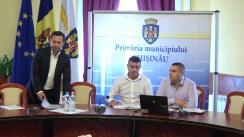 Ședința săptămânală a serviciilor primăriei Chișinău din 13 august 2018