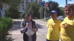 Spitalele românești, boala României, transmisiune de la Spitalul Universitar București. Transmisiune susținută de Partidul Ecologist Român.
