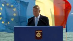 Festivitatea prilejuită  Zilei Marinei Române cu participarea Președintelui României, Klaus Iohannis