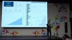 """Briefing de presă susținut de Ministrul Economiei și Infrastructurii, Chiril Gaburici, de prezentare a rezultatelor privind implementarea programului """"Drumuri bune pentru Moldova"""""""