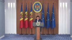 Declarații de presă după ședința Comisiei Naționale Extraordinare de Sănătate Publică
