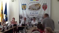 Ședința Consiliului Local Zalău din 20 iulie 2018