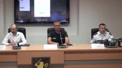 Conferința de presă organizată de Inspectoratul General al Poliției de prezentare a unei platforme online de semnalare a încălcărilor, neregulilor și problemelor observate de cetățeni pentru a ajuta poliția să afle cât mai rapid despre ele și să-și concentreze eforturile pentru înlăturarea acestora