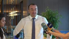 Deschiderea oficială a noii săli de așteptare la Aeroportul Internațional Chișinău