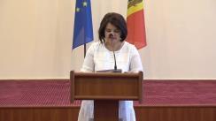 Briefing de presă cu ocazia semnării contractului de parteneriat public-privat privind proiectarea și construcția Arenei Chișinău