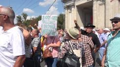 Protest organizat de Mișcarea de Rezistență ACUM în Piața Marii Adunări Naționale