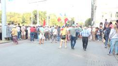 Transmisiune în direct din centrul municipiului Chișinău