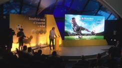 """Lansarea studiului """"Beneficiul social al investiției în fotbal"""" realizat de Federația Română de Fotbal în parteneriat cu Federația Suedeză de Fotbal și UEFA"""