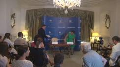 Conferință de presă susținută de ambasadorul Marii Britaniei la București, Andrew Noble