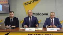 Forumul Economic Moldo-Rus în format de videoconferință Chișinău - Moscova