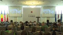 Forumul Republica Unirii organizat de Sergiu Mocanu, liderul Mișcării Populare Antimafie