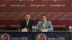 """Conferința de presă organizată de Asociația Obștească """"Za Russkii Iazîk"""" cu tema """"Anunțarea Campaniei """"Să apărăm Limbile Moldovenească și Rusă"""""""