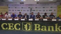 Conferintă de presă organizată de Federația Română de Rugby ce prefațează noul sezon 2018-2019 al SuperLigii CEC Bank