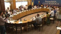 Ședinta extraordinară a Consiliului Local Cluj-Napoca din 29 august 2018