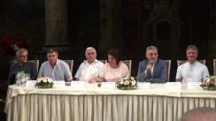 """Conferință de presă cu prilejul celei de-a XXVI-a ediții a Festivalului Internațional de Operă și Balet """"Maria Bieșu"""""""