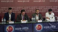 """Conferință de presă organizată de Alianța pentru Centenar cu tema """"Plahotniuc și Dodon speriați de Marșul Centenarului"""""""