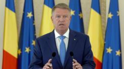 Declarații de presă susținute de Președintele României, Klaus Iohannis, în urma Ședinței Consiliului Suprem de Apărare a Țării din 4 septembrie 2018