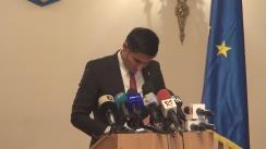 Declarație susținută de Iulian Claudiu Manda după audierea lui George Maior în comisia comună permanentă a Camerei Deputaților și Senatului pentru exercitarea controlului parlamentar asupra activității SRI