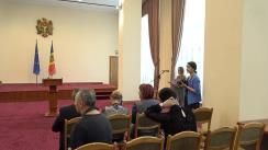 """Semnarea certificatului de finalizare urmare semnării contractului de vânzare-cumpărare a Î.S. """"Vestmoldtransgaz"""""""