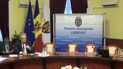 Ședința săptămânală a serviciilor primăriei Chișinău din 10 septembrie 2018