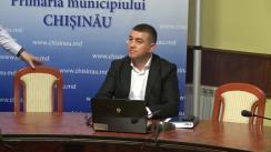 Declarații după ședința săptămânală a serviciilor primariei Chișinău din 10 septembrie 2018