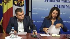 Declarațiile lui Ion Cebanu și Veronicăi Herța după ședința săptămânală a serviciilor primariei Chișinău din 10 septembrie 2018
