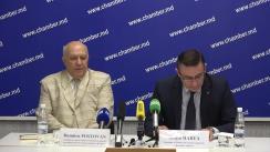 Conferință de presă privind organizarea celebrării aniversării a 100 de ani de la fondarea Camerei de Comerț și Industrie a Republicii Moldova și 25 de ani de la crearea Curții de Arbitraj Comercial Internațional de lângă CCI a Republicii Moldova