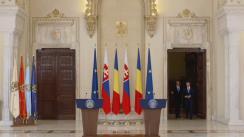 Declarație de presă susținută de Președintele României, Klaus Iohannis, și Prim-ministrul Republicii Slovace, Peter Pellegrini