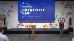 Deschiderea oficială a evenimentului Creativity Lab InnoVoter